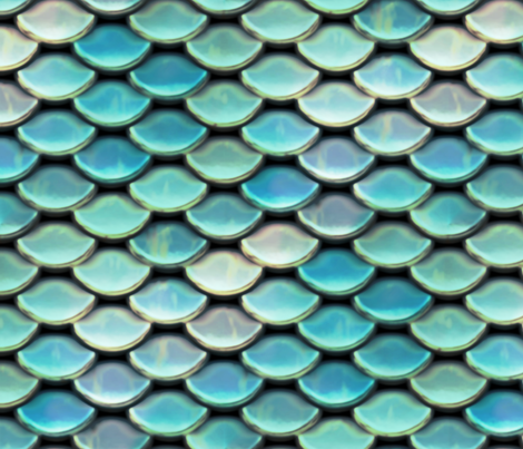 Scales ~ Titan fabric by peacoquettedesigns on Spoonflower - custom fabric