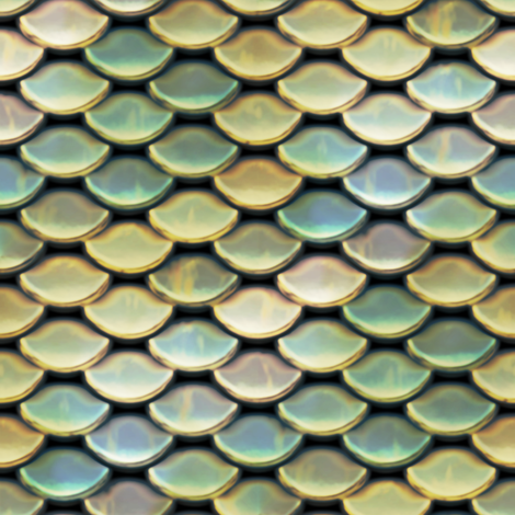 Scales ~ Atlantis fabric by peacoquettedesigns on Spoonflower - custom fabric