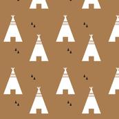 teepee brown