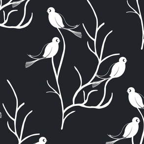 Deco Birds and Twigs