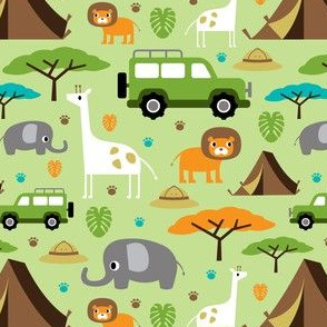 Wildlife Camping Safari