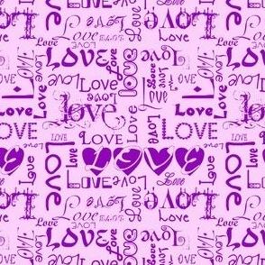 Love Letters - Purples