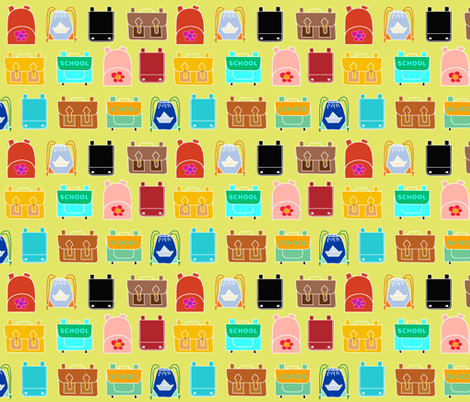 Backpacks fabric by domoshar on Spoonflower - custom fabric