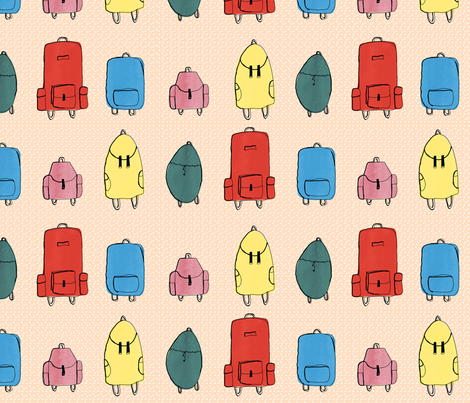 backpacks_josephinegraucob fabric by josephinegraucob on Spoonflower - custom fabric