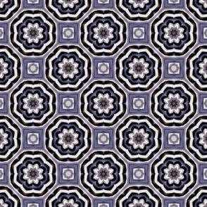Floral Plum Mosaic