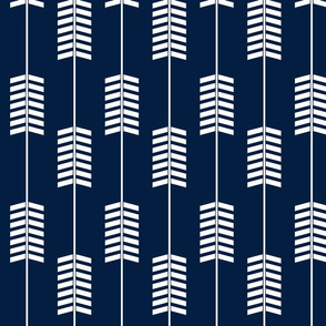arrows // navy