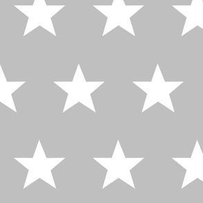 stars in grey
