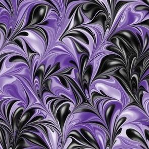 Lavender-Black-Swirl
