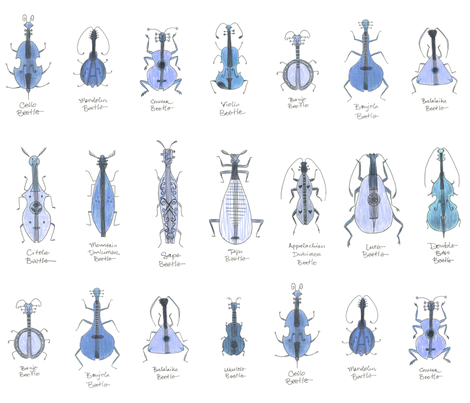 bluegrass beetles