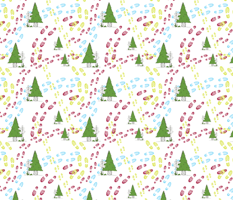 Hiking fabric by svaeth on Spoonflower - custom fabric