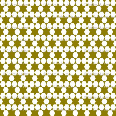 Hexagons - Copper by Andrea Lauren