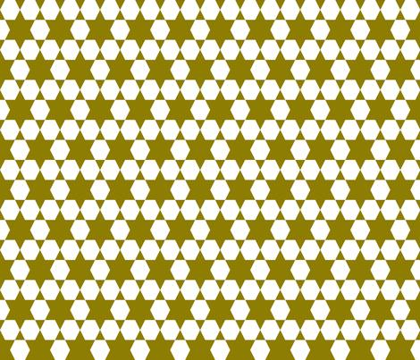 Hexagons - Copper by Andrea Lauren fabric by andrea_lauren on Spoonflower - custom fabric