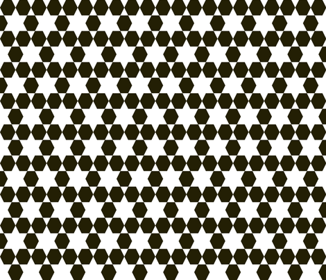 Hexagons - by Andrea Lauren fabric by andrea_lauren on Spoonflower - custom fabric