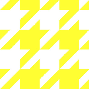 the houndstooth check ~ Daffodilly ~ 4 inch checks
