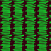 Green Stacked Lines