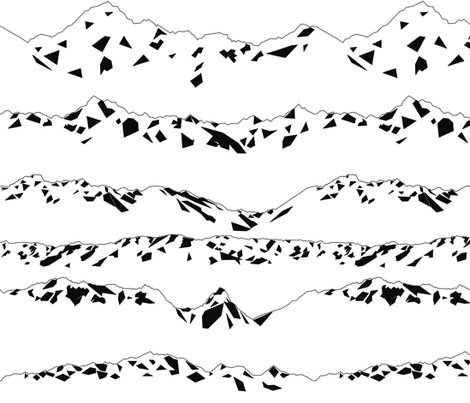 Rgeometric_mountains_bw._shop_preview