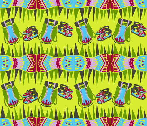 hike_11 fabric by ambermorgan on Spoonflower - custom fabric