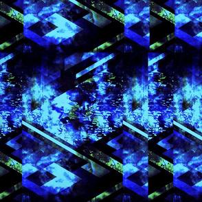 GeoMatrix in Blue