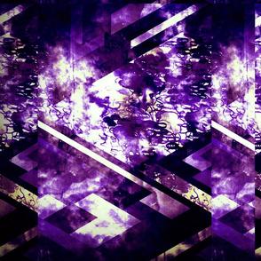 GeoMatrix in Midnight Violet