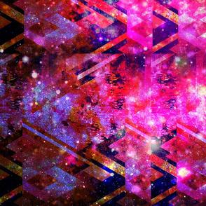 GeoMatrix in Cosmic Fuchsia