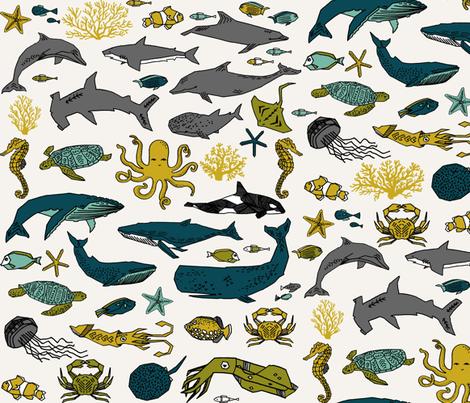 Ocean Animals by Andrea Lauren