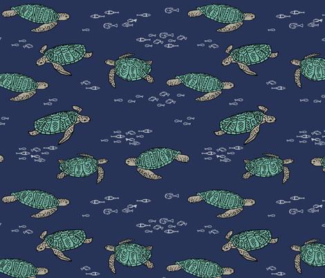 Sea Turtles by Andrea Lauren
