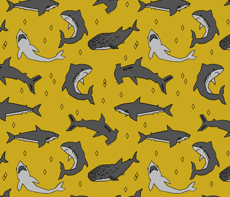 Sharks by Andrea Lauren