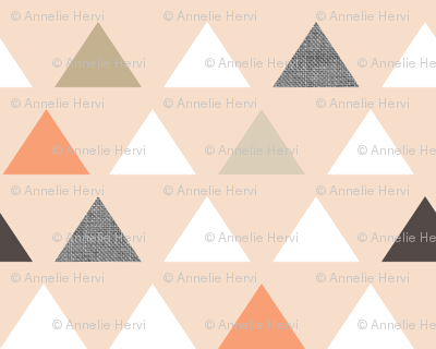 Blush Melon Triangles