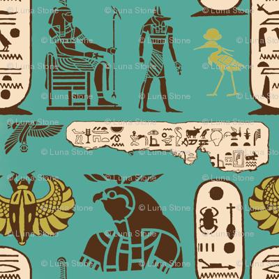 Ancient Egyptian - Glyphs