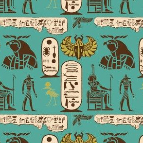 Ancient Egyptian - Glyphs