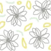 sketchy daisies