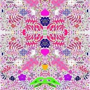 pink crayon luna garden
