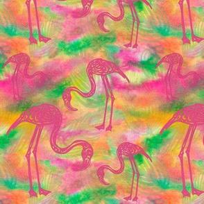 A Flamingo Flourish (multi)