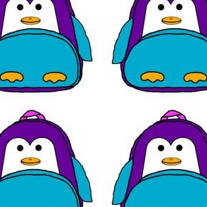 Penguin Animal Backpack