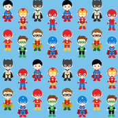 Super Hero Kids - Blue