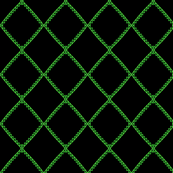 Green Sawtooth Squares