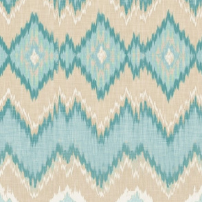Custom Ikat Chevron Version 2