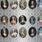 portraits of marie-antoinette