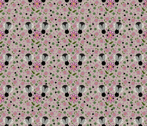 Beetle Love fabric by judyjo on Spoonflower - custom fabric