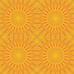 magenta yellow sun