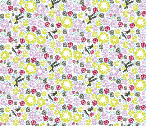 Flower liberty Hiking Contest fabric by sarah_s_ on Spoonflower - custom fabric