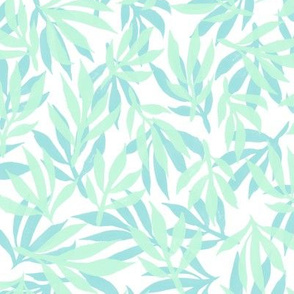 palm beach - mint and aqua