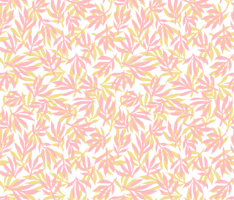 palm beach - yellow and pink