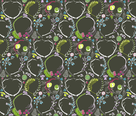 Waldeinsamkeit fabric by graceful on Spoonflower - custom fabric