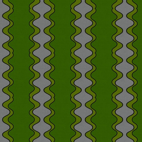 Wiggle In Green and Gray