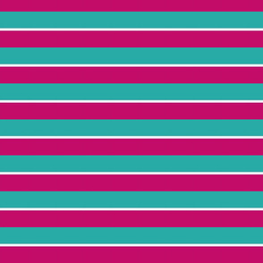 Turquoise and violet stripes-ch-ed
