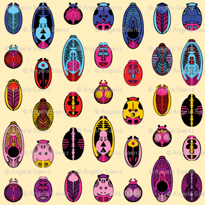 Colorful Beetles