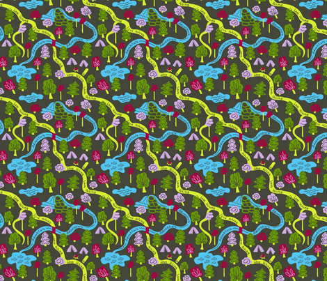Hiking-01 fabric by milta on Spoonflower - custom fabric