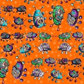 BEETLE MANIA Orange ladybug scarab