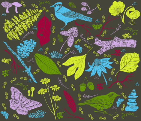 Beautiful Day fabric by missy_warp on Spoonflower - custom fabric